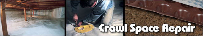 Crawl Space Repair in Philadelphia, Newark, Reading